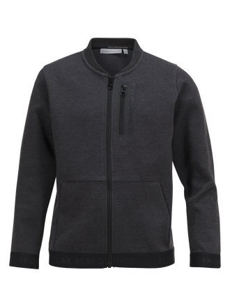 Veste zippée enfant Tech Dk Grey Mel | Peak Performance