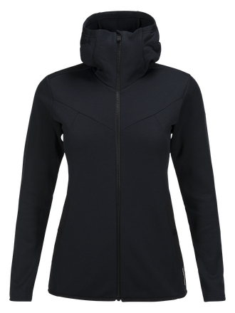 Women's Goldeck Hooded Zipped Mid-layer