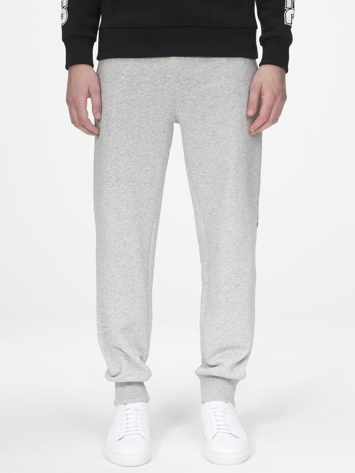 Sportswear sweatpants med tryck för herrar Med Grey Mel | Peak Performance