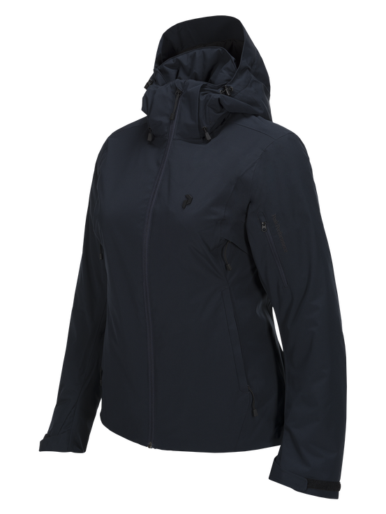 Women's Anima Ski Jacket Salute Blue | Peak Performance