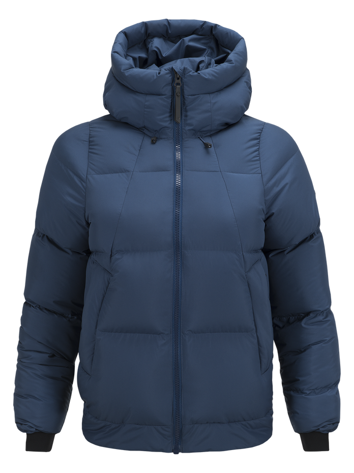 Damen Divison Jacke Decent Blue | Peak Performance