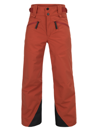 Kids Greyhawk Ski Pants Orange Planet | Peak Performance