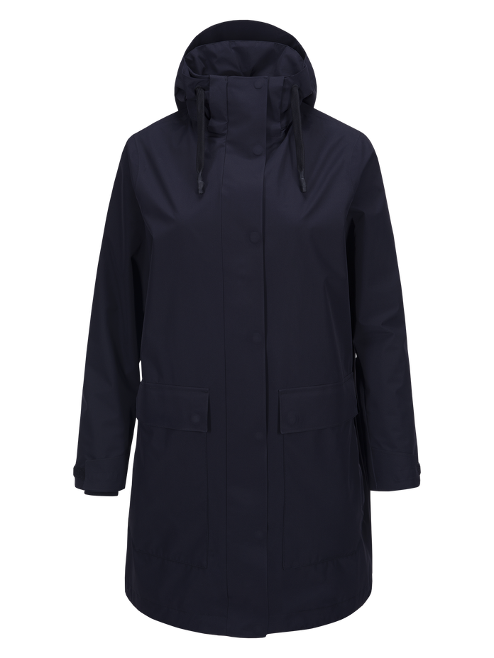 Damen Summer Unit Parka Salute Blue | Peak Performance