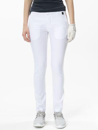 Damen Golf Coldrose Hose White | Peak Performance