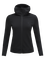 Women's Ace Zipped Hooded Mid-Layer Black | Peak Performance
