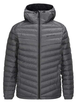 Men's Melange Frost Down Liner Jacket Dk Grey Mel | Peak Performance