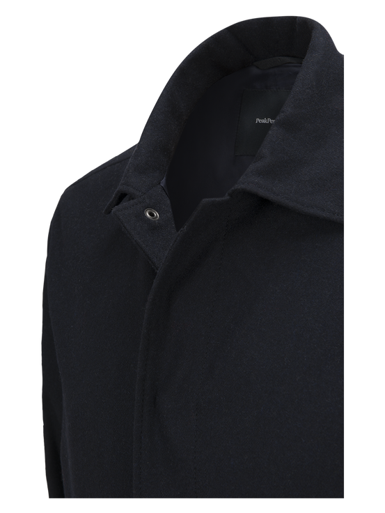 Men's Wool Shirt Salute Blue | Peak Performance