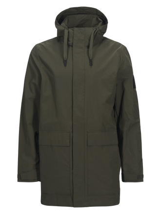 Zak herrparkas Terrain Green | Peak Performance