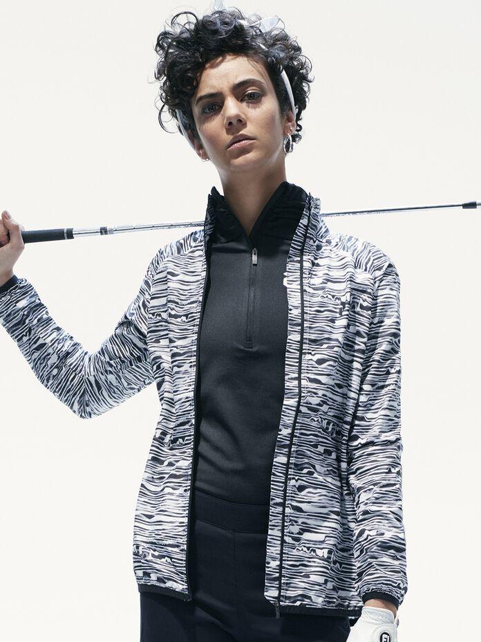 Veste de golf imprimée pour femmes Fairlie Pattern | Peak Performance