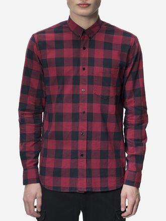 Men's Steve Harley Shirt Softer Red | Peak Performance