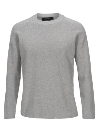 Men's Rob Crew neck Med Grey Mel | Peak Performance