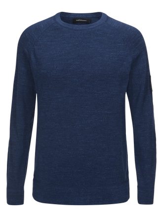 Herren Thyler Rundhalsausschnitt Thermal Blue | Peak Performance