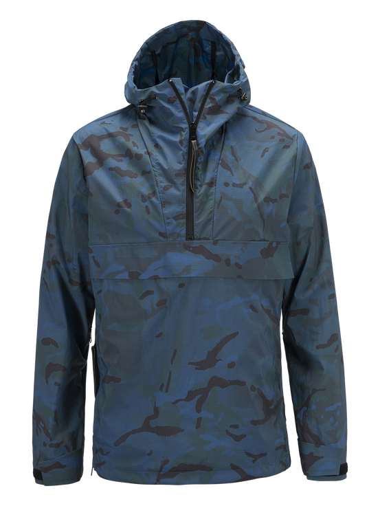 Herren Army Anorak Noble Green | Peak Performance