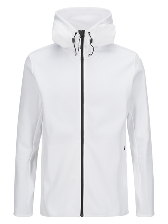 Sweat zippé à capuche pour hommes Tech White | Peak Performance