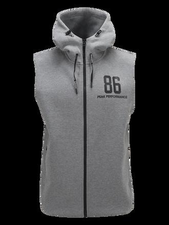 Men's Tech Sleeveless Zipped Hooded Vest