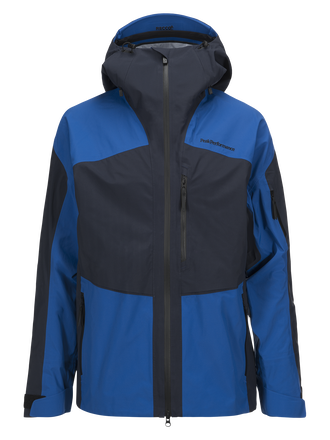 Herren Gravity Skijacke Salute Blue | Peak Performance