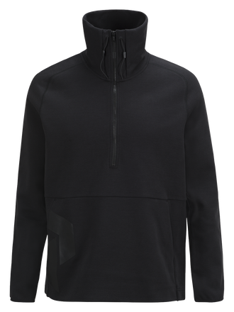 Col roulé demi-zippé homme Tech Black | Peak Performance