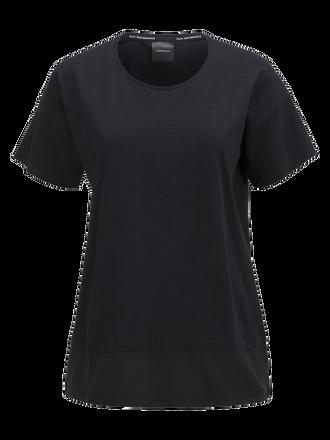 Tech t-shirt med dragsko för damer Black   Peak Performance