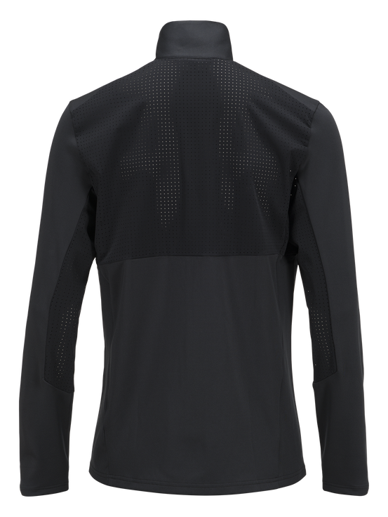 Men's Complete Zipped Running Jacket Black | Peak Performance