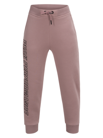 Kids Sweat Pants Dusty Roses | Peak Performance
