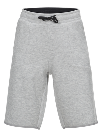Kids Tech Shorts Med Grey Mel | Peak Performance
