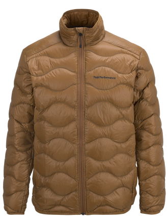 Herren Helium Jacke Honey Brown | Peak Performance