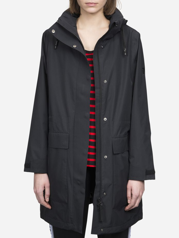 Women's Summer Unit Parka Black | Peak Performance