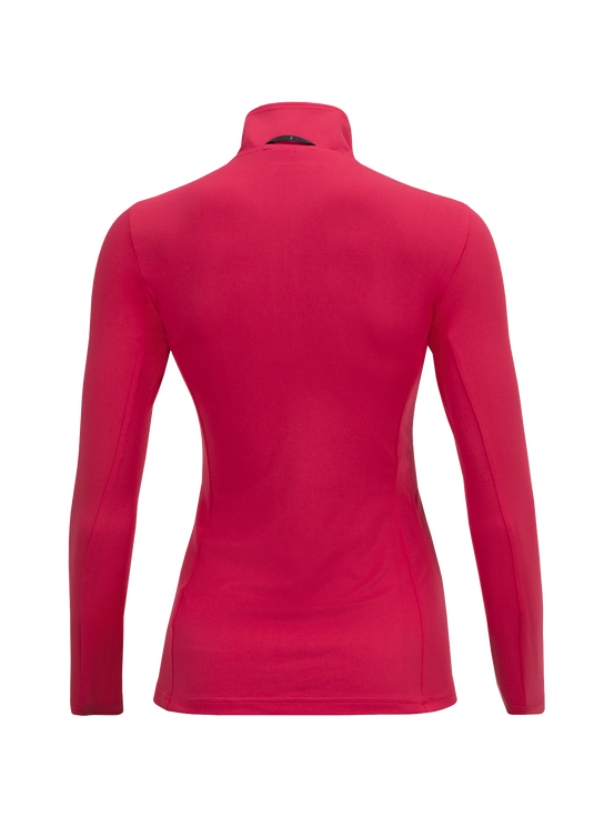 Women's Graph Half Zipped Base-Layer