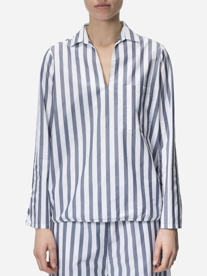 Women's Striped Harlow Shirt Pattern | Peak Performance
