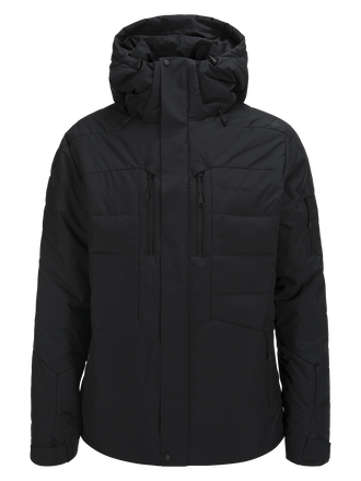 Men's Shiga  Ski Jacket Black | Peak Performance