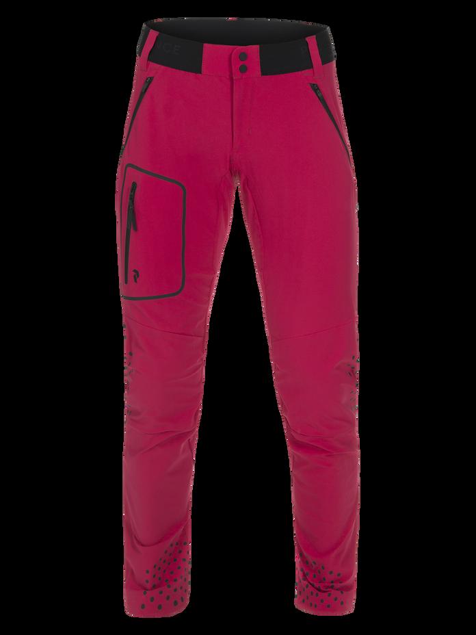 Women's Light Softshell Pants True Pink | Peak Performance
