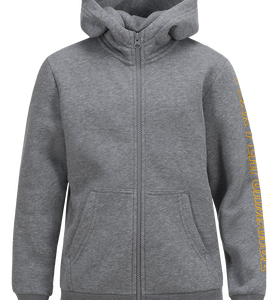 Kids Zipped Hooded Sweater