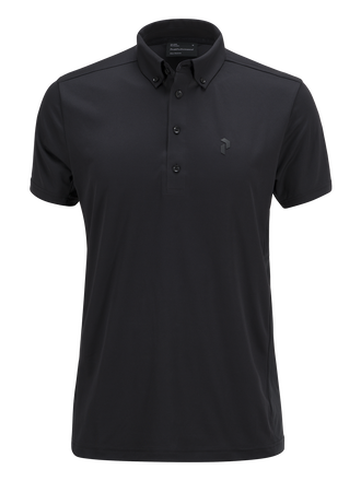 Men's Golf Howick Polo Black | Peak Performance