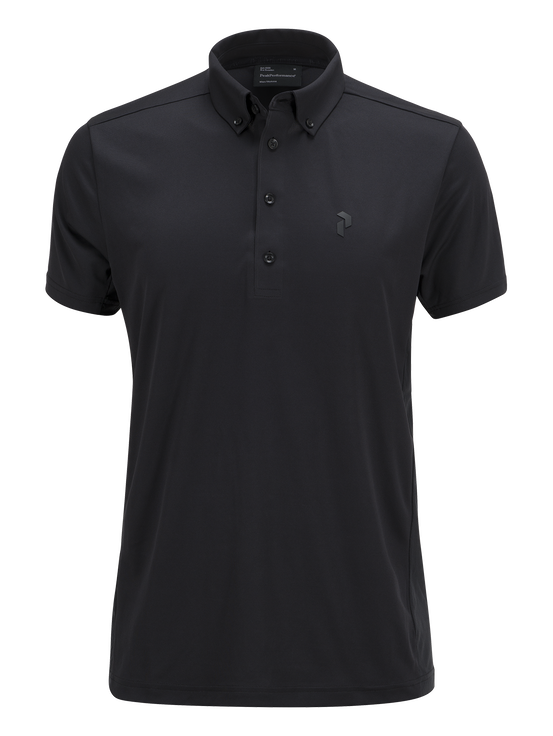 Men's Golf Howick Polo Black | Peak Performance