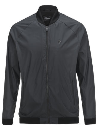 Men's Golf Octon Jacket   Black | Peak Performance