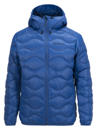 Men's Helium Hooded Jacket True Blue | Peak Performance