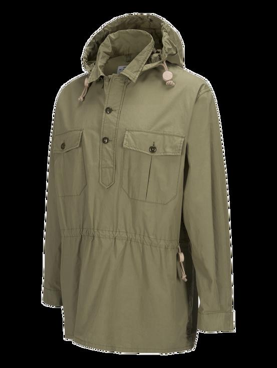 Unisex Vindskjorta Army Force Green | Peak Performance