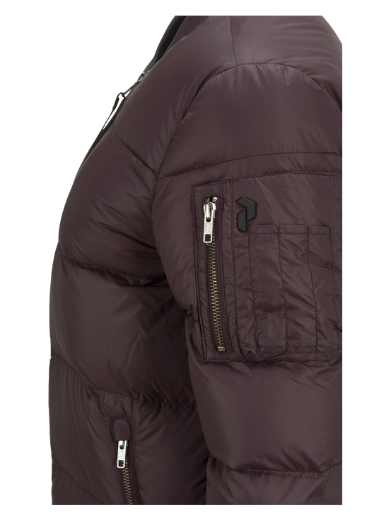 Women's Skyler Jacket Mahogany | Peak Performance