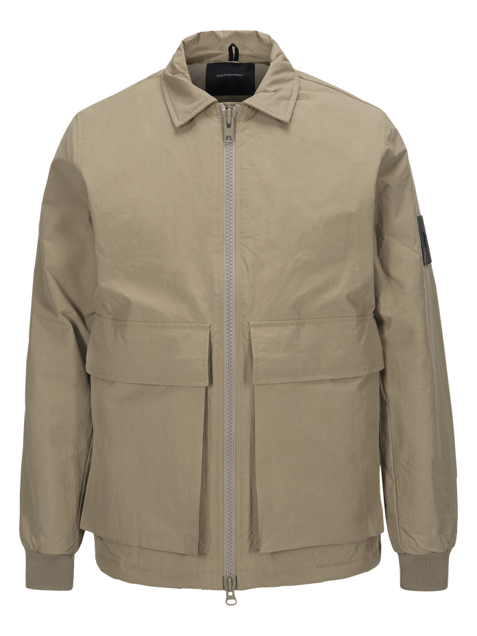 Men's Bourne Jacket True Beige | Peak Performance