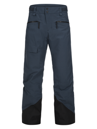 Men's Ski Teton 2-Layer Pants Blue Steel | Peak Performance