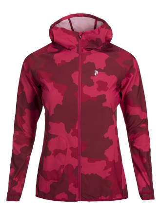 Women's Fremont Printed Jacket Pattern | Peak Performance