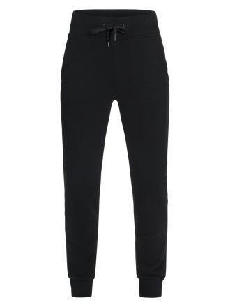 Women's Sportswear Printed Sweat Pants Black | Peak Performance