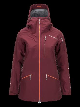 Women's Radical 3-Layer Jacket Cabernet | Peak Performance