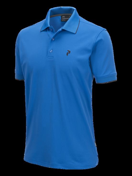 Men's Golf Technical Piqué English Blue | Peak Performance