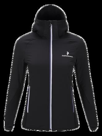 Women's Black Light Hybrid Mid-Layer Jacket