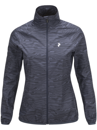Damen Golf Fairlie Mit Print Jacke Pattern | Peak Performance