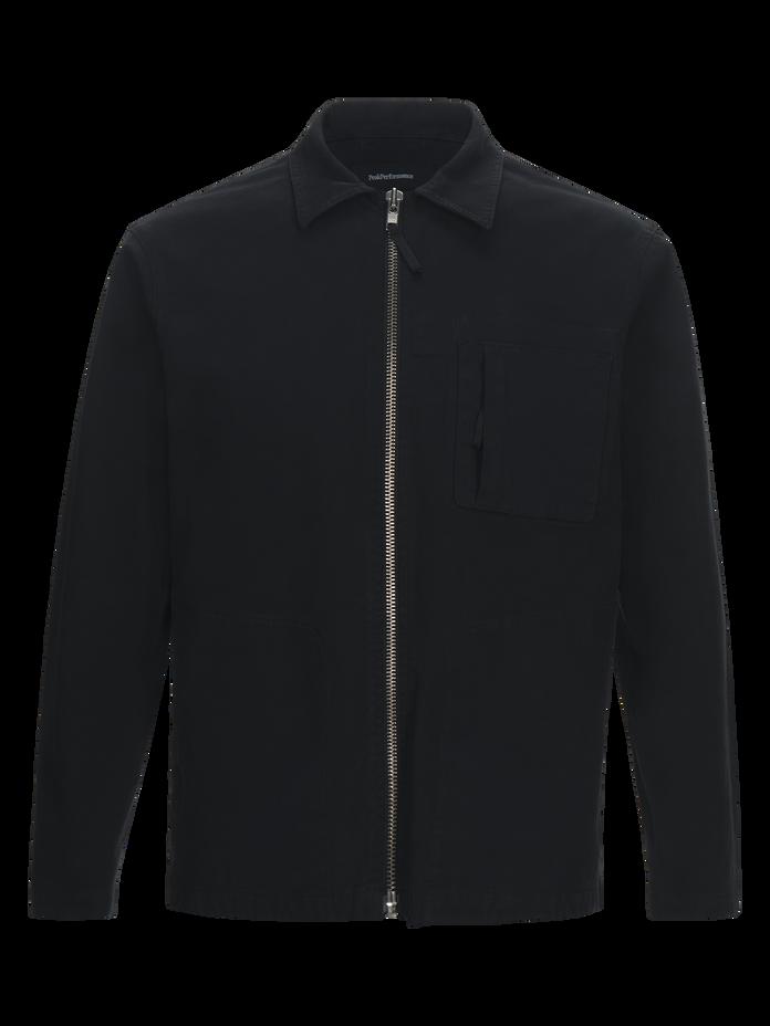 Work skjortjacka för herrar Black | Peak Performance