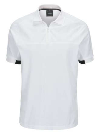 Men's Tech Pique II White | Peak Performance