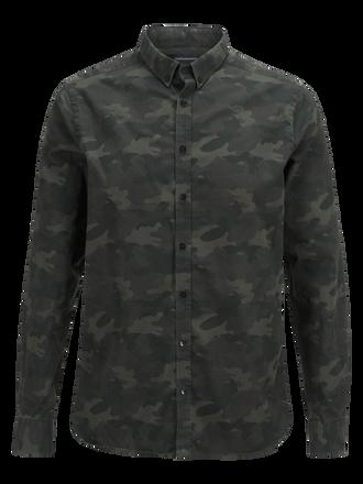 Keen kamouflagemönstrad herrskjorta  Pattern | Peak Performance