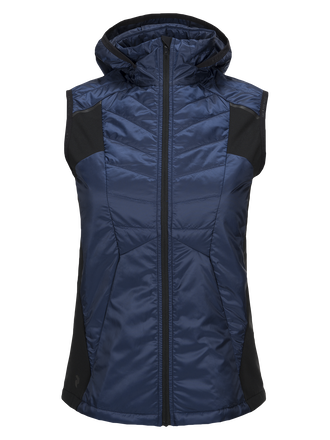 Women's Alum Vest Thermal Blue | Peak Performance